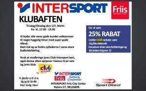 Klubaften Intersport